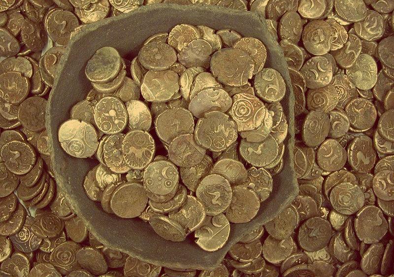 Вот бы иметь такую гору золотых монет сейчас!