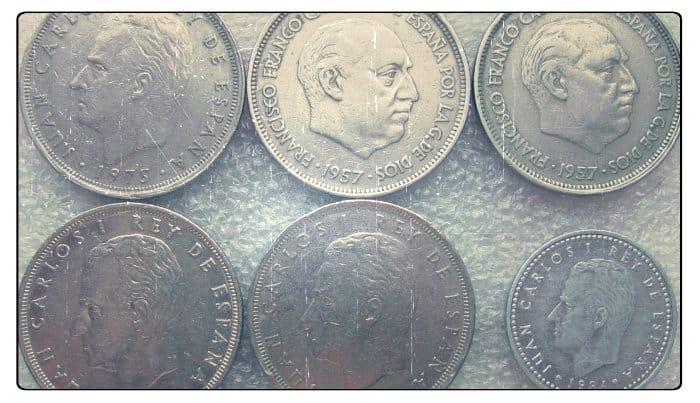 История монет Испании