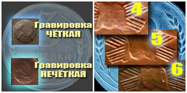 Разновидности монеты 3 копейки 1924 года