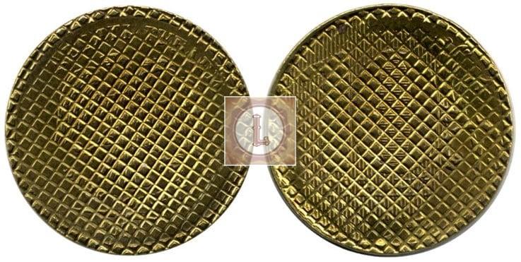 Брак монеты 10 рублей 2009 года загашен