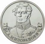 Генерал от инфантерии М.А. Милорадович