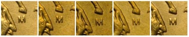 Отличия аверсов у монеты ММД