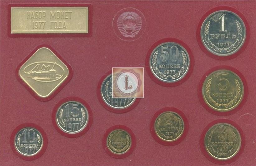 Годовой набор Госбанка СССР 1977 года
